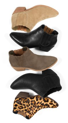 The JOIE Barlow Booties are back in stock! Scoop up our best-selling ankle bootie to wear year-round.