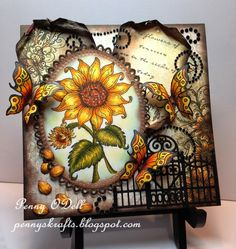Flowers of Tomorrow by PennyO - Cards and Paper Crafts at Splitcoaststampers