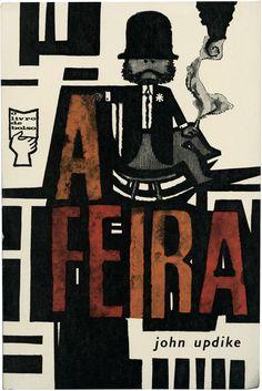 A feira, John Updike, Portugália Editora, O livro de bolso 28, design João da Câmara Leme, 1961