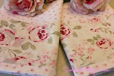 How to make or Embellish Pillowcases - freshen up your bedding for Spring www.Concordcottage.com