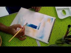 Window of opportunity in water colours. Explained step by step by Amrita Tiwary - YouTube