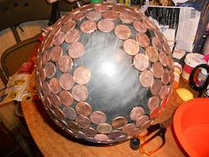 How To Make a Penny Ball