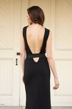 Backless Cut Out