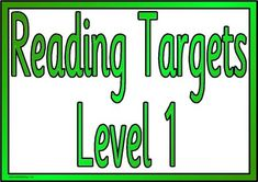 Free KS1 and KS2 Teaching Resources - Printable Literacy Targets I can ...