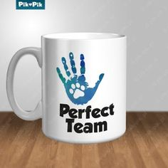 Perfect Team. Mug