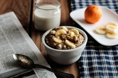 Peanut butter banana oatmeal from The Pastry Affair