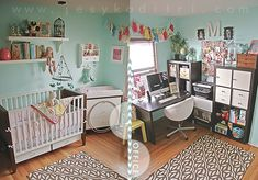 Pinning for future reference, when we are really ready to prep the studio into a nursery-split-studio.