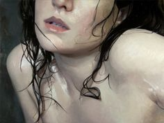 Realist Painting by Alyssa Monks - Wet