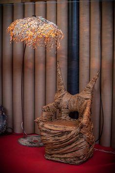AliveMatter_MateriaViva  Armchair by Giacomo Solfanelli for Cartasia2016 Design Exhibition | ExCavallerizza Lucca | > September 10