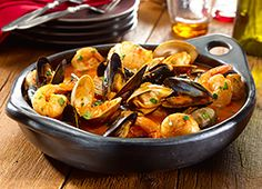 Cazuela de Mariscos – Spanish-Style Shellfish Stew