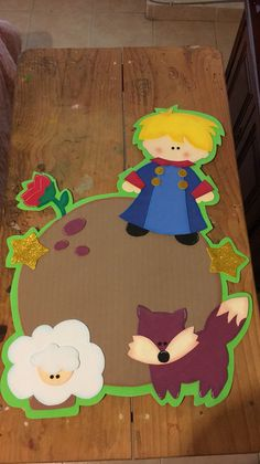 Little Prince Party, My Little Pony Party, The Little Prince, Foam Crafts, Diy And Crafts, Paper Crafts, School Decorations, Baby Art, Diy Scrapbook