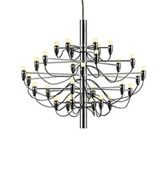 """Mod 2097 Chandelier & FLOS Lighting Mod 2097 Chandeliers 