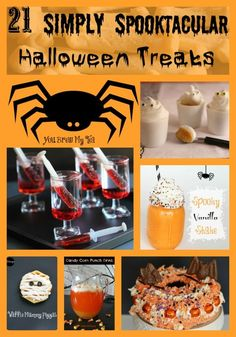 Don't know what to make for your kids party? Look no further than these 21 Simply Spooktacular Halloween Treats!