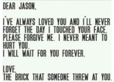 Brason forever! PHOEBE THE BRICK AND JASON FOREVER