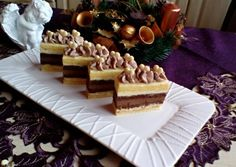 Cake Bars, Xmas, Christmas, Tiramisu, Recipies, Dessert Recipes, Food And Drink, Ethnic Recipes, Healthy Nutrition