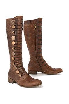 Button Brigade Boots - Anthropologie.com - These are no longer available! Not that I could afford them anyway...