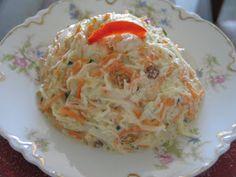 Receitas - From our home to yours - Português: Coleslaw - Salada de Repolho