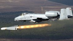A-10 in Action With Awesome Sound - Fairchild Republic A-10 Thunderbolt ...