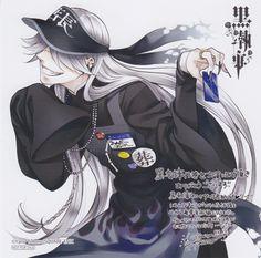 Undertaker, the cashier from Kuroshitsuji