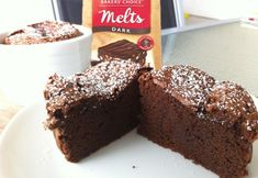 2 Ingredients Gâteau au Chocolat (rich & moist chocolate cake) - Real Recipes from Mums
