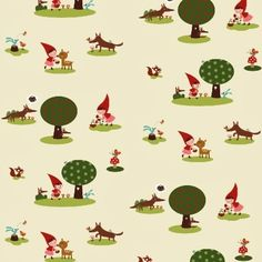 red riding hood fabric