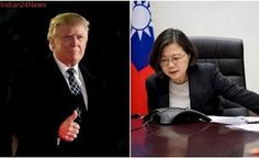 Taiwan's president tweets congratulations to Trump