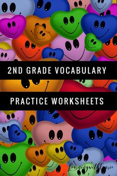 2nd Grade Vocabulary worksheets create a perfect routine for practicing daily vocabulary. *Also available in 3rd-6th grades. One of the best ways to improve your students reading comprehension is to grow their knowledge base of vocabulary words 2nd Grade Activities, Word Work Activities, Teaching Activities, Classroom Activities, Fun Learning, Teaching Resources, Daily Vocabulary, Vocabulary Practice, Vocabulary Worksheets