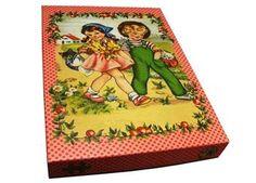 beautiful retro puzzle 54 pcs froy & dind | Kids shop the Little Zebra
