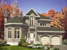 Victorian House Plan chp-30610 at COOLhouseplans.com