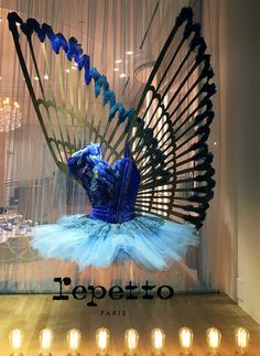 "REPETTO,Soho,New york, ""Fairy tales do come true......"", photo by Stylecurated, pinned by Ton van der Veer"