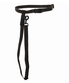 Take a look at this Black Hands-Free Leash by Max & Zoey on #zulily today!