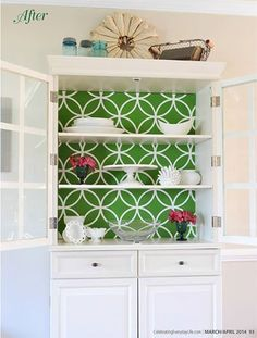 Celebrating Everyday Life with Jennifer Carroll features this brightly stenciled hutch by the talented Linda from burlap+blue in their latest magazine issue. Does this make you even MORE ready for Spring?
