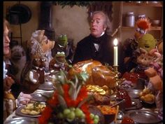 I love Michael Caine in this flick....and never tire of 'A Christmas Carol!'