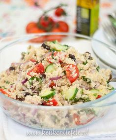 Couscous Cooking at the campsite: couscous salad - Best Summer Dinner Recipes Diner Recipes, Salad Recipes, Snack Recipes, Punch Recipes, Diet Food To Lose Weight, Weight Loss, Best Camping Meals, Camping Recipes, Couscous Salat