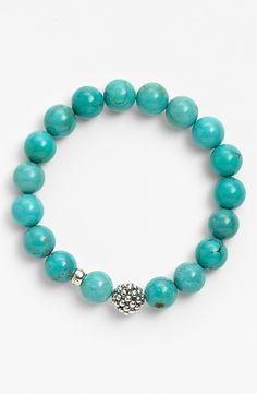 LAGOS Bead Stretch Bracelet - nordstrom $250