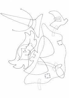 Mesetárház: Halloweeni boszorkány