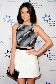 Pretty Little Liars star Lucy Hale is known for her gorgeous brunette locks.