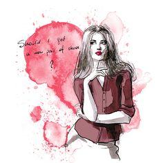 Design & illustrations for Trendsetterka online shop.