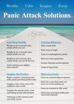 Quick Solutions for Panic Attacks - Simply Stepping #PanicAttackEssentialOils