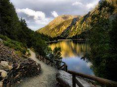 Aiguestortes National Park (Lake San Mauricio) is one of the fourteen Spanish National Parks, the second in the Pyrenees and the only one in Catalonia.