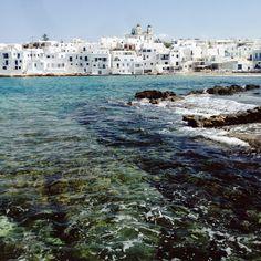 Naoussa in Paros, Greece