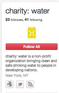 charity: water, the rock star of social media.