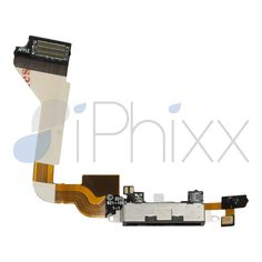 This charging port for an iPhone 4, will restore charging functionality to your device or audio to your lower mic if you are having issues with either component. This part is supplied with adhesive strips to ensure a snug fit.  - See more at: http://www.iphixx.com/shop/apple-iphone/apple-iphone-4/iphone-4-charging-port-lower-mic-cable#sthash.x379pLJx.dpuf