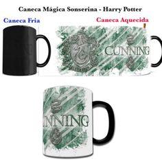 Caneca Magica Harry Potter - Sonserina