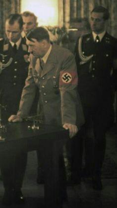 Max Wunsche, Adolf Hitler and Karl Brandt
