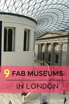 Like it? Pin it for later! Museums in London