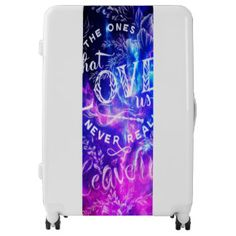 The Ones that Love Us Amethyst Dreams Luggage