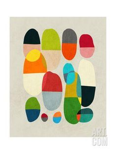 Jagged Little Pills Giclee Print by Budi Kwan at Art.com