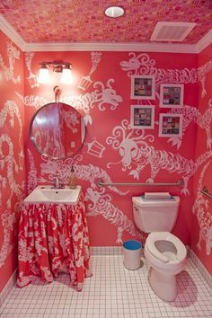 Phipps Plaza - Atlanta, GA Retail Store - Our HOTLANTA ladies room! Inspired by everything HOT! Join us for our Grand Opening at Phipps by b...