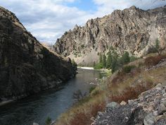 "Middle Fork Salmon River Idaho - river on no return - or as my son thinks of it, ""the river that goes to Lewiston eventually"" Road Trip Destinations, Amazing Destinations, Middle Fork Salmon River, Landscape Photographers, Rafting, Vacation Spots, Idaho, Wilderness, Places To See"